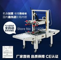 automatic case sealer - Automatic carton sealing machine top and bottom case sealer BOPP tape sticking packer industrial packaging equipment tools