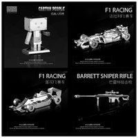 barrett rifle - DIY Harbour Bridge Barrett sniper rifle F1 D Metal model Nano Puzzles Famous buildings over the world gifts Chinese ICONX