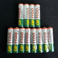 Wholesale 12PCS High Power GP AAA V Rechargeable NiMH Battery GP Battery New Batteries