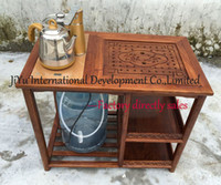 african wood furniture - 100 African Red sandalwood wood furniture coffee table water table corner table small tea table safe home table in natural lacquer craft