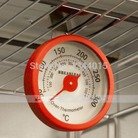 Wholesale 1 Degree The Second Edition Stainless Steel Oven Thermometer Can Hang the Grill Adjustable Height Angle Kitchen Baking Tool