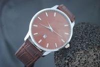 best timing belt - 2016 Men s Watches Best Selling Men s atmos Clock Leather Strap Watches Full Men Watch Steel Military Quartz Men s sports Wristwatch