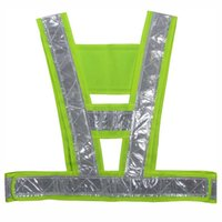 Wholesale Reflective Vest Safety Clothing V high visibility Safety belt Article printing Reflective Traffic Vests Overalls Clothes