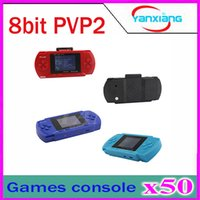 No av out card - 50pc PVP bit game console handheld game player video games AV out function free game card ZY PVP2