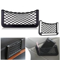 Wholesale New Arrival Durable Universal Car Storage Mesh Net String Pouch Bag Holder Organizer Gadget Phone Super Quality