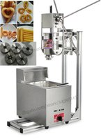 Wholesale Commercial Deluxe Stainless Steel L Churro Maker L Electric Fryer Manual Spanish Churros Making Machine Capacity L