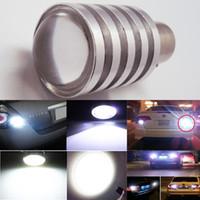 Wholesale LED Car Lights Bulb LED tail Lights Ba15s COB W LED Backup Signal Blinker Tail Light BULBS V Replacement for