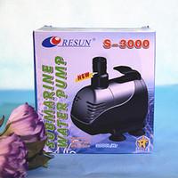 Wholesale Resun S GPH W L H Aquarium Submersible Pump Fish Pond Internal Water Pump AC220 V