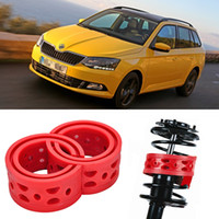 Wholesale 2pcs Super Power Rear Car Auto Shock Absorber Spring Bumper Power Cushion Buffer Special For Skoda Fabia