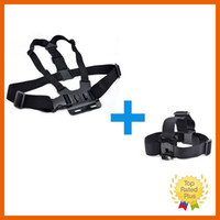 Wholesale Action Camera Gopro Accessories kit Harness Head Chest Strap Mount Accessories For GoPro Hero Hight Quality