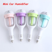 auto keyboard - Hot Nanum Car Plug Air Humidifier Purifier Auto Mini Car Humidifiers Essential Oil Diffuser Mist Maker Mini Fogger DHL Free