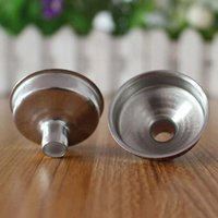 Wholesale Stainless Steel mm Funnel For Most Hip Flasks Flask Wine Pot Wide Mouth Stainless Steel High Quality