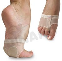 belly dance fitness - Fedex DHL Free Women Belly Dance Foot Pads Foot Cover Half Toe Pads Yoga Dance Training Fitness Foot Strap Foot Protection Accessories Z69