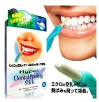 Wholesale Elitiza Hyper Dental Peeling Stick Teeth whitening Remove coffee tea stain