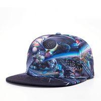 adult fiction - Brands Science Fiction pattern Color printing cotton Men Women Sports Hat Hats Baseball Cap Hip Hop Snapback Caps jt
