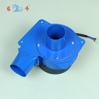 ac exhaust fan - w mini gas barbecue eject smoke round pipe metal exhaust blower fan AC v centrifugal blower