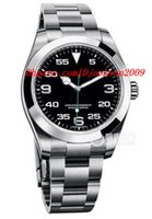 airs steel wristwatch - Luxury Wristwatch Original Box Air King Neu OVP Papiere Box Ref Neues Mode Automatic Men Watch Men s Watch Watches