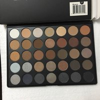 Wholesale 2016 Brand New Morphe Brushes color Natural Matte Eyeshadow palette A C E W P T O N DHL free Cosmetics