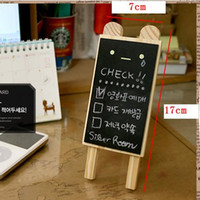 Wholesale Korea design cute bear mini blackboard message memo note board wedding party decoration or shop store use stationery