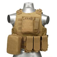 Wholesale Hot Quick release Military Molle Combat Assault Plate Carrier Vest Tactical vest