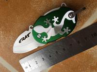 beautiful folding knife - HOT SALE CRKT beautiful Mini small key chain Pocket Knife Tactical HRC Cr13 folding Best Gift knife g