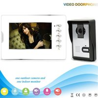 Wholesale Free DHL V70D L V1 Manufacturer wired video door phone video doorbell video intercom system with Water proof