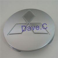 auto custom wheels - xterior Accessories Emblems set V73 mm Silver ABS Custom Wheel Hubcaps Cover Auto Rim Hub Center Centre Caps For Car Styling MR99