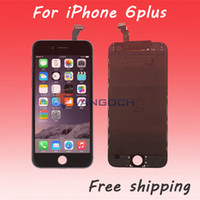 Wholesale For iPhone plus LCD A Display Touch Screen Digitizer Assembly with frame Replacement repair
