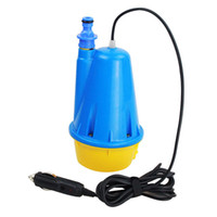 12v dc water pump - Submersible Water Pump Car Washer Gun with m Cigarette Lighter Plug for DC V Car Wash Equipment Top Quality W Car Cleaning Tools