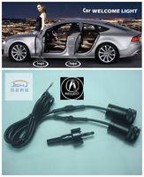 acura cars logo - LED Car door welcome light courtesy led car laser projector Logo Ghost Shadow Light For acura logo light