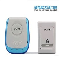 Wholesale Wireless doorbell remote control doorbell household wireless doorbell electronic doorbell