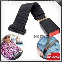 Wholesale 14 quot Longer cm New Durable Black Universal Car Truck Seat Seatbelt Safety Belt Extender Extension quot Buckle