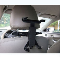 Wholesale For iPad Tablet PC GPS Multi Direction Car Mount Headrest Holder Bracket Clip Universal Drop Shipping