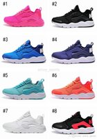 Cheap Wholesale Air Huarache 3 Pink Black Blue White Orange Purple Men Women Running Shoes Sneakers Trainer Athletics size 5.5 11 Top Quality
