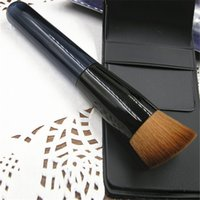 pampers - Velvety Pampering Makeup Brushes Professional Moderate Rounded Brush Head Foundation Handcrafted Brush Fool Proof and Natural Looking