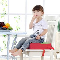 Wholesale Kid Chair Increased Pad Children Lovely Soft Chair Cushion Increased Female Models Oxford Adjustable Length Pull Tight Multicolor