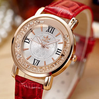 Wholesale Watch female students authentic South Korea fashionable diamond wrist watch quartz leisure fashion epidermis with a watch