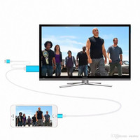 apple tv black - HDMI cable M TV connection phone P HD hdmi adapter cable converter for iphone5 s s cable