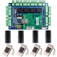 access control reader ethernet - Wiegand bit Security TCP IP Ethernet Network Access Control Board Panel Controller Circuit For Door Reader