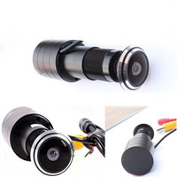 Wholesale 170 Degree Wide Angle CCD Wired Mini Door Eye Hole Peephole Color CCTV Video Camera quot CCD