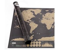 best classic tubes - Google Top Quality Super Clear and Deluxe Scratch Map Deluxe Scratch Gilded World Map x cm Best Gift with Tube