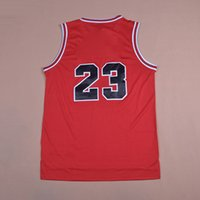 Wholesale High Quality Free Fast shipping Classical Hero Black Red White Baskeball climacool Jersey Sportswear Swingman Replica embroidered LOGO