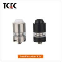advanced integrated - Original Innokin Axiom RTA Tank ml Triple Airflow Advanced Axiom RBA Head for Single or Dual Coil Builds Integrated Top Fill Design
