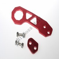 Wholesale Big boss racing Aluminum Alloy Unversal Auto Racing Car Rear Tow Hook Towing Bars with logo