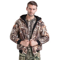Wholesale Brand New OEM Waterproof Realtree MAX Camo Hunting Hoodies Camouflage Hoodie Layers Fleece Camo Clothing Camo Hunting Wear