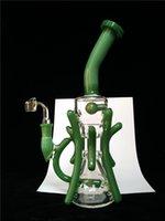 США импортировали цветного стекла Бонг стекло высокого качества буровых установок переработчик стекла водопроводных труб нефтяных вышек мазок вышка 14mm женский сустав