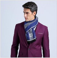 Wholesale Men new solid color business scarf Top Quality fashion Scarves Size cm cm