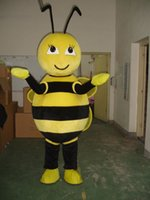 bee fancy dress costumes - mascot costume for adults christmas Halloween Outfit Fancy Dress Suit Drop Shipping BEE