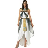 arab costumes - adult woman costumes Halloween cosplay Greek Goddess sexy Cleopatra Egyptian Queen Arab young woman Costumes