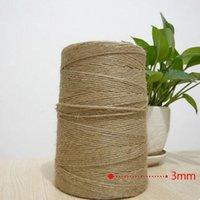 Wholesale mm m Natural jute DIY use decorative tag lost m